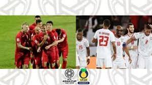 پیش بازی امارات - قرقیزستان