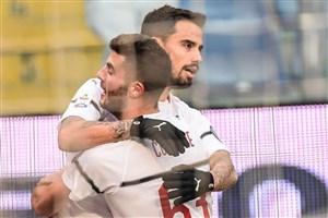 جنوا 0-2 میلان: سه امتیاز در غیاب ایگواین