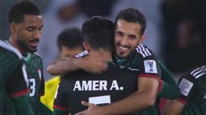 گل دوم امارات به قرقیزستان (علی احمد مبخوت)