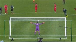 گل سوم امارات به قرقیزستان (احمد خلیل - پنالتی)