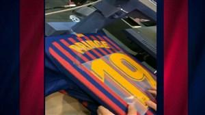 چاپ پیراهن کوین پرینس بواتنگ در بارسلونا
