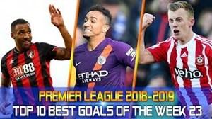 10 گل برتر هفته بیست و سوم لیگ برتر جزیره