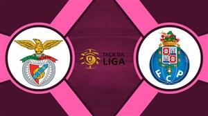 خلاصه بازی بنفیکا 1 - پورتو 3 (جام اتحادیه)