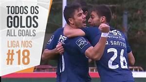 تمام گل های هفته 18 لیگ پرتغال 2019