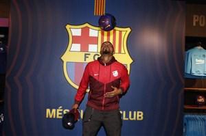 پشت صحنه حضور پرینس بواتنگ در بارسلونا