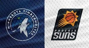 خلاصه بسکتبال مینه سوتا تیمبرولوز - فینیکس سانز
