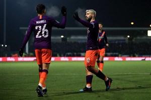 صعود منچسترسیتی به فینال جام اتحادیه انگلیس