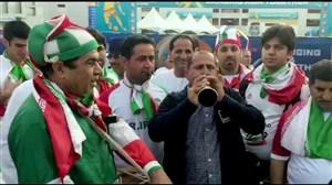 اختصاصی ورزش سه ; حال و هوای ایرانی های پرشور در امارات