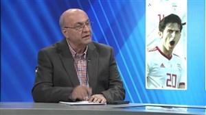 تحلیل بین دو نیمه بازی ایران - چین