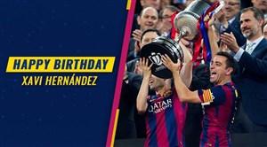 بهمناسبتتولد مغز متفکر فوتبال کاتالونیا ؛ ژاوی هرناندز