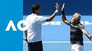 خلاصهتنیس منصور بهرامی در مسابقات آزاد استرالیا