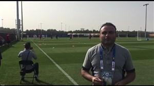 اختصاصی ورزش سه؛ اولین تمرین تیم ملی پس از پیروزی بر چین
