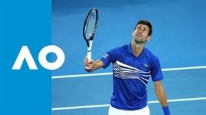 خلاصه تنیس نواک جوکوویچ - لوکاس پویل (تنیس آزاد استرالیا 2019)