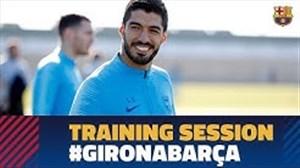 تمرین امروز تیم بارسلونا(05-11-97)