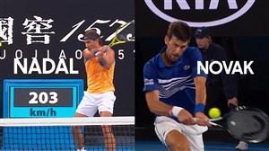 پیشبازی فینال تنیس استرالیا بین جوکوویچ و نادال