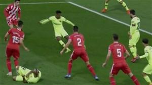 گل اول بارسلونا به خیرونا (نلسون سمدو)