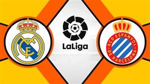 خلاصه بازی اسپانیول 2 - رئال مادرید 4 (دبل بنزما)