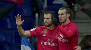 گل چهارم رئال مادرید به اسپانیول (گرت بیل)