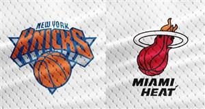 خلاصه بسکتبال نیویورک نیکس - میامی هیت