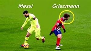 مسی مقابل ستارگان فوتبال