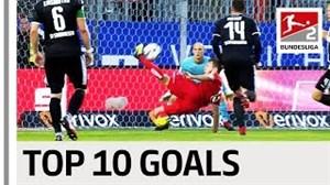 10 گل برتر بوندسلیگا 19-2018