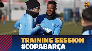 تمرینات ریکاوری بازیکنان بارسلونا (08-11-97)
