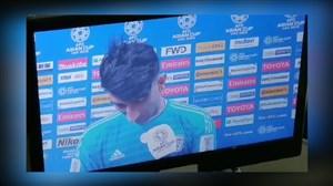اصرار ناظر AFC به مصاحبه تلویزیونی و عدم تمایل بیرانوند
