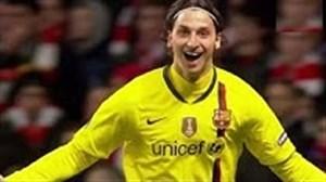 5 گل برتر زلاتان ابراهیموویچ در لیگ قهرمانان اروپا