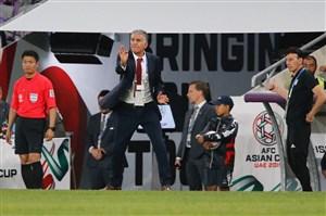 ,کارلوس کی روش(سرمربی),جام ملتهای آسیا 2019,تیم ملی ایران