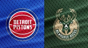 خلاصه بسکتبال میلواکی باکس - دیترویت پیستونز