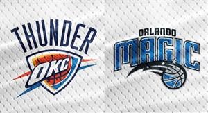 خلاصه بسکتبال اورلاندو مجیک - اوکلاهاما سیتی تاندر