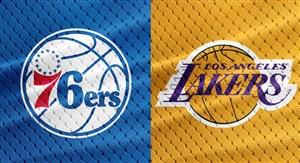 خلاصه بسکتبال لس آنجلس لیکرز - فیلادلفیا سیکسرز