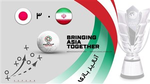 آنالیز گرافیکی بازی ایران - ژاپن