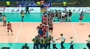 خلاصه والیبال شهرداری ارومیه 1 - خاتم اردکان 3