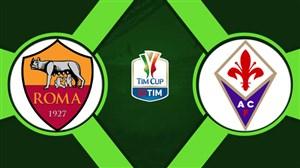 خلاصه بازی فیورنتینا 7 - آاس رم 1 (هتریک کیه زا)