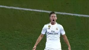گل سوم رئال مادرید به خیرونا(یورنته)