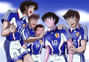کارتون فوتبالیستها عامل موفقیت و خودباوری در فوتبال ژاپن