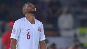 شوت دیدنی عبدالعزیز حاتم؛ گل دوم قطر به ژاپن