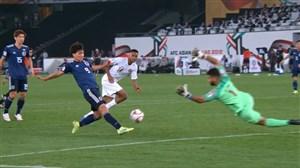 گل اول ژاپن به قطر توسط مینامینو