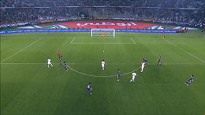 گل سوم قطر به ژاپن (اکرم عفیف-پنالتی)
