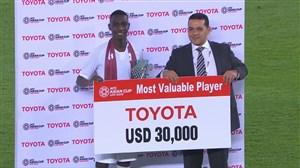 مراسم اهدای جوایز انفرادی جام ملتهای آسیا 2019