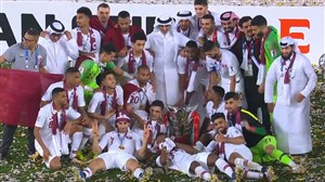 مراسم اهدای جوایز جام ملتهای آسیا 2019