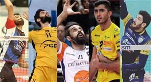 مروری بر عملکرد لژیونرهای والیبال ایران(17-12-97)