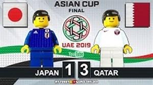 شبیه سازی فینال جام ملتهای آسیا 2019 با لگو