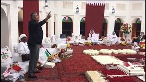 برنامه مجلس ؛ شعرخوانی لیث نوبری برای قهرمانی قطر