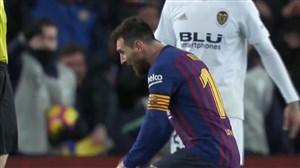گل دوم بارسلونا به والنسیا (دبل مسی )