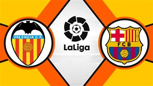 خلاصه بازی بارسلونا 2 - والنسیا 2 (دبل مسی)
