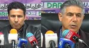 کنفرانس خبری پارس جنوبی جم - فولاد خوزستان