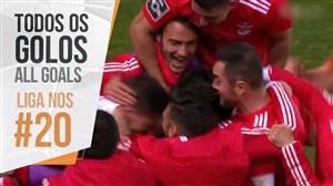 تمام گل های هفته بیستم لیگ پرتغال 2019
