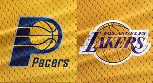 خلاصه بسکتبال ایندیانا پیسرز - لس آنجلس لیکرز